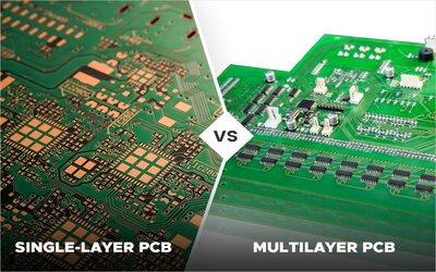 Single Layer Vs Multi Layer PCB...